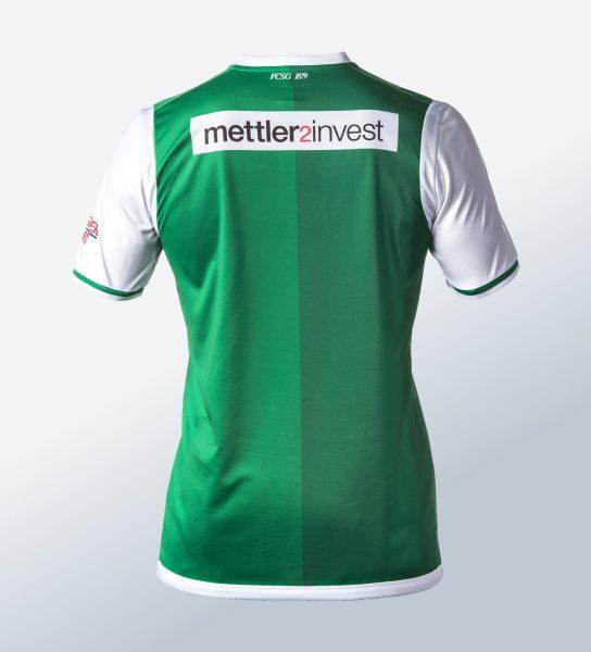 Camiseta titular Jako del St. Gallen | Foto Web Oficial