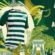 Camiseta titular del Ferencvarosi Torna Club   Foto Web Oficial