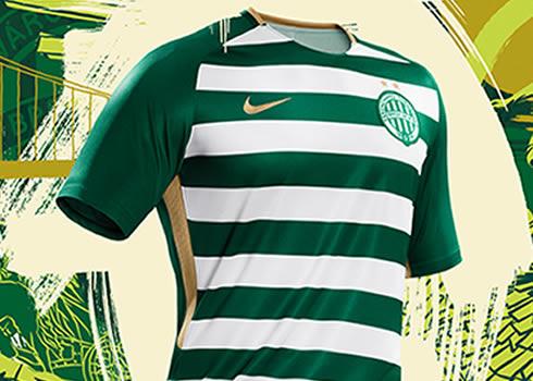 Camiseta titular del Ferencvarosi Torna Club | Foto Web Oficial