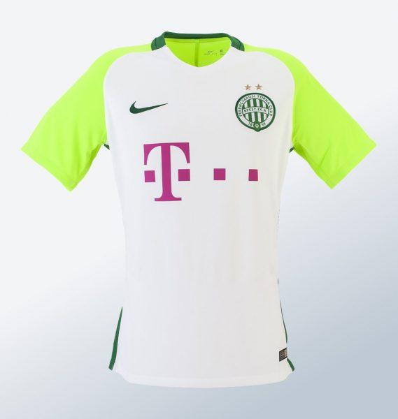 Camiseta suplente del Ferencvarosi Torna Club | Foto Web Oficial