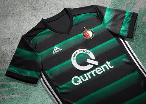 Camiseta suplente Adidas del Feyenoord | Foto Web Oficial