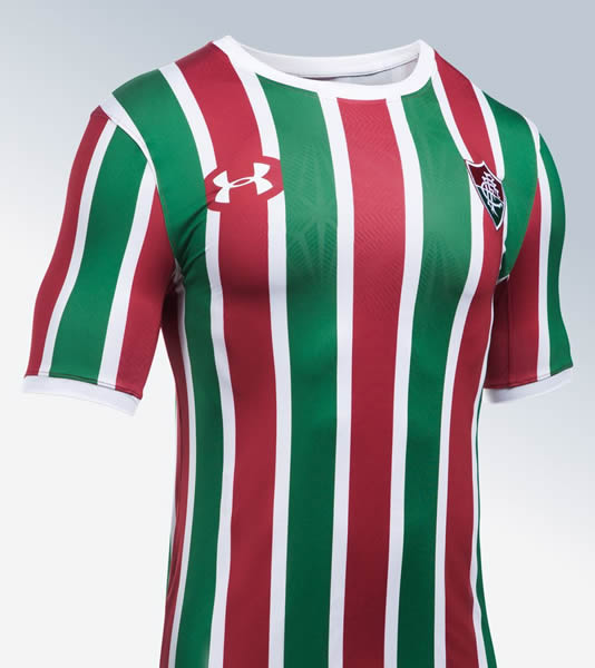Camiseta titular del Fluminense | Foto Under Armour