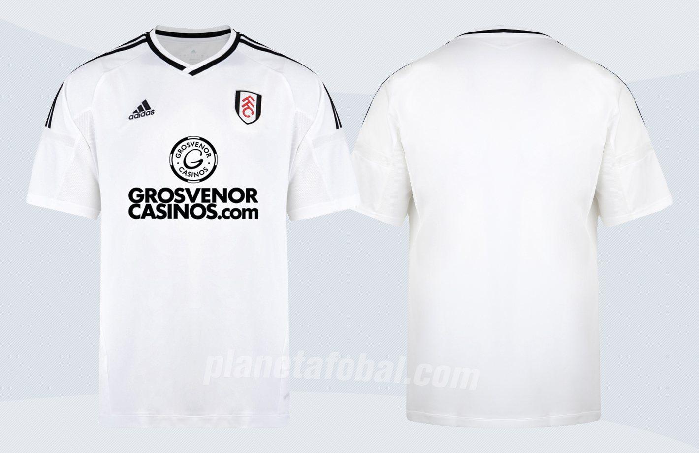 Camiseta titular Adidas del Fulham | Imágenes Web Oficial
