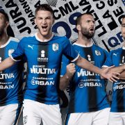 Camiseta titular Puma de los Gallos Blancos | Foto Twitter Oficial