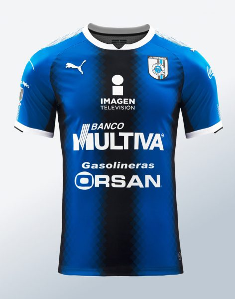 Camiseta titular Puma de los Gallos Blancos   Foto Twitter Oficial