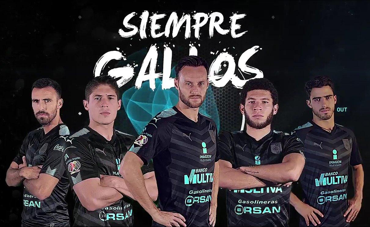 Camiseta suplente Puma de los Gallos Blancos | Foto Twitter Oficial