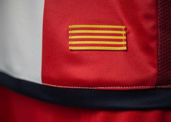 Camiseta titular del Girona FC | Foto Umbro