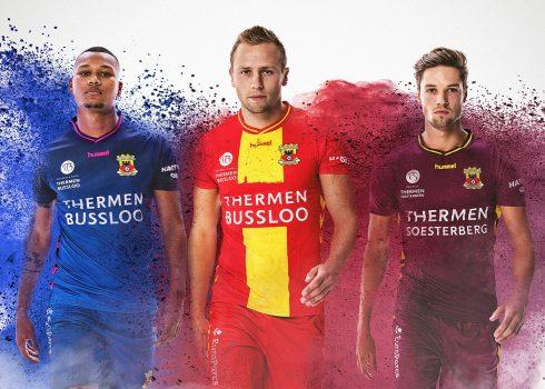 Camisetas Hummel del Go Ahead Eagles   Foto Web Oficial