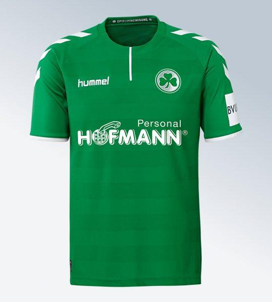 Camiseta suplente del Greuther Fürth | Foto Web Oficial