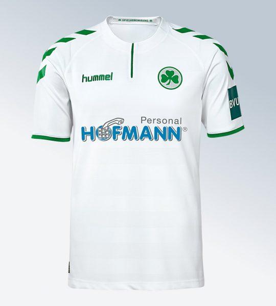 Camiseta titular del Greuther Fürth | Foto Web Oficial