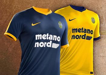 Nuevas camisetas Nike del Hellas Verona | Foto Web Oficial