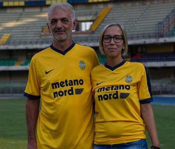 Nueva camiseta suplente Nike del Hellas Verona | Foto Web Oficial