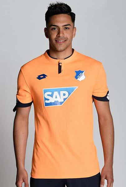 Tercera camiseta Lotto del Hoffenheim | Foto Web Oficial