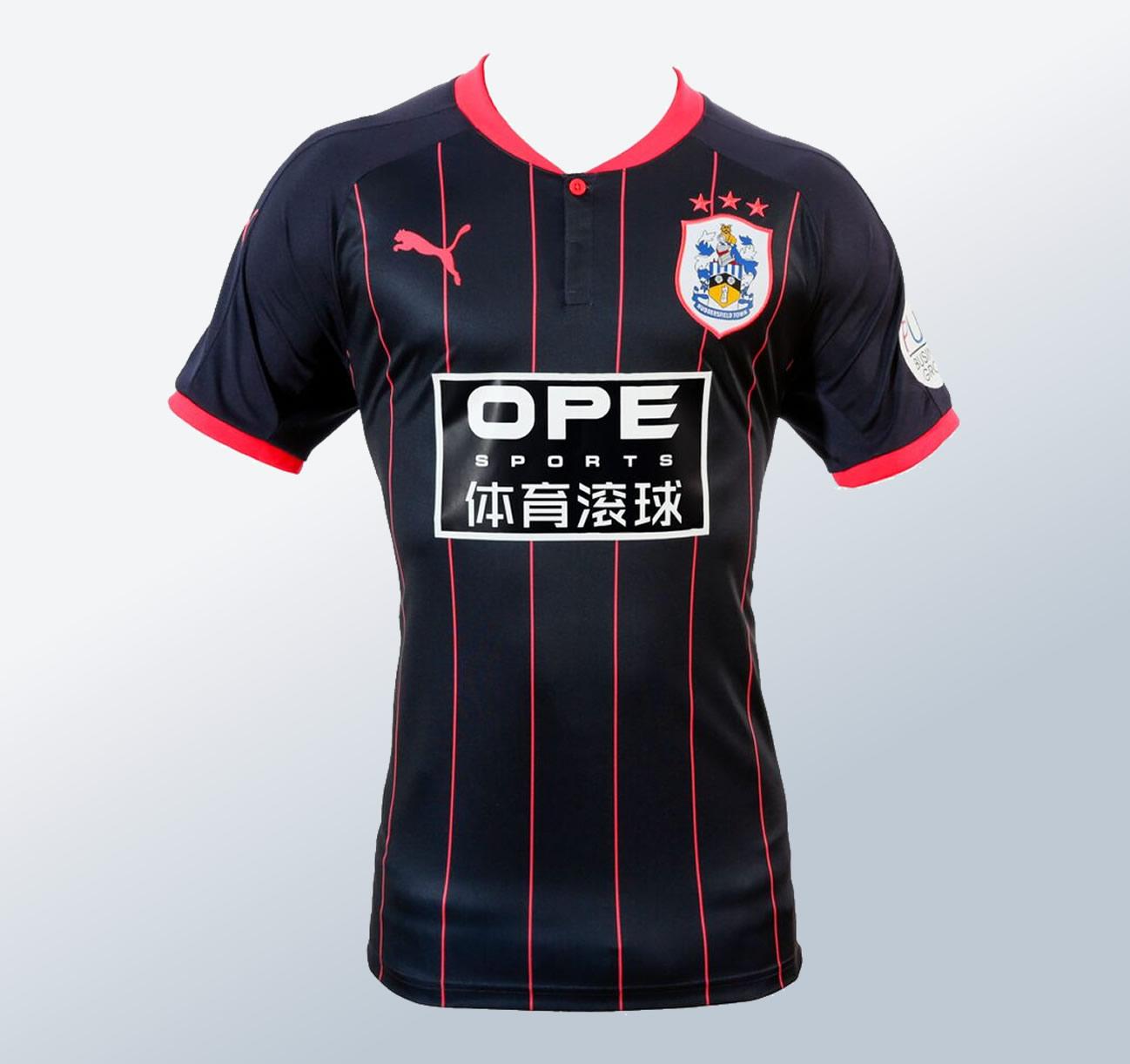 Nuevo kit alternativo del Huddersfield Town | Foto Twitter Oficial