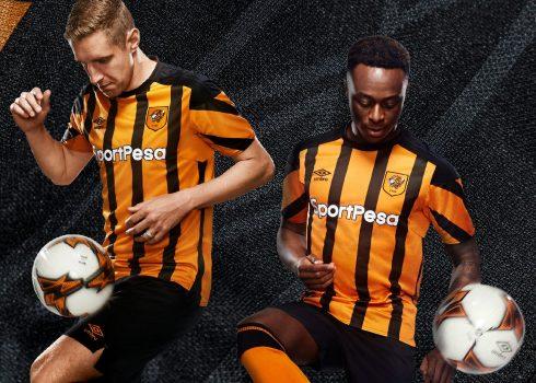 Camiseta titular Umbro del Hull City | Foto Web Oficial
