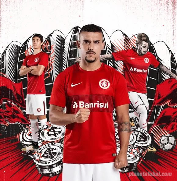 Camiseta titular del Inter de Porto Alegre | Foto Web Oficial