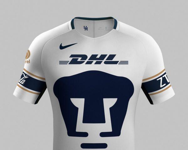 Camiseta suplente de los Pumas UNAM | Foto Twitter Oficial