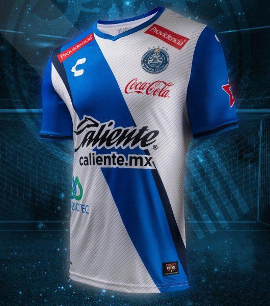 Camiseta titular del Club Puebla | Foto Charly