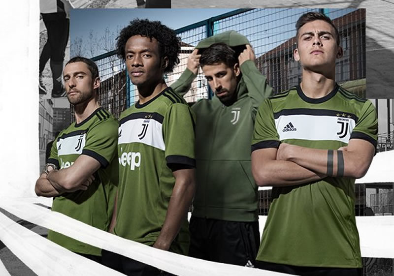 Tercera camiseta Adidas de la Juventus | Foto Web Oficial