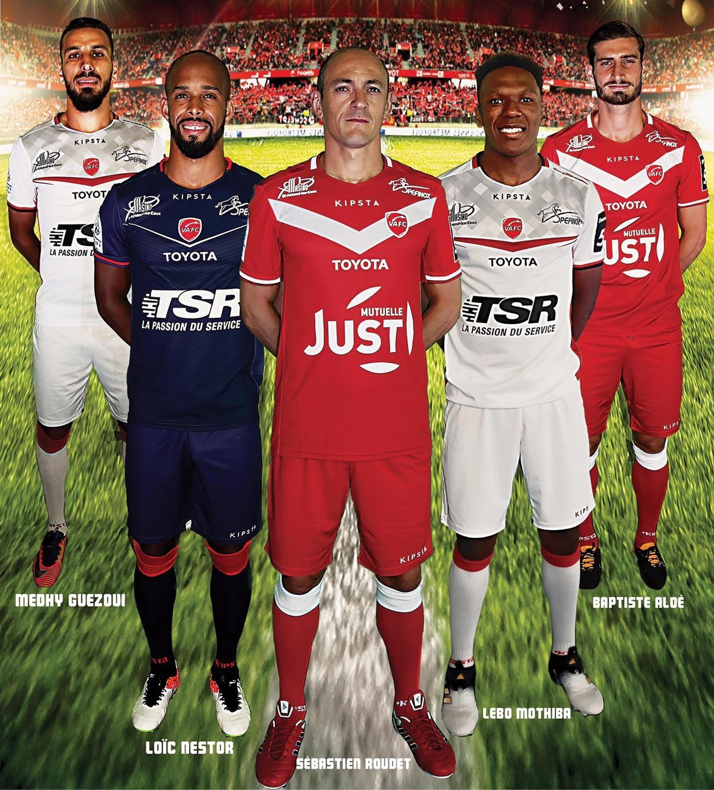 Nuevos kits del Valenciennes FC | Foto Web Oficial