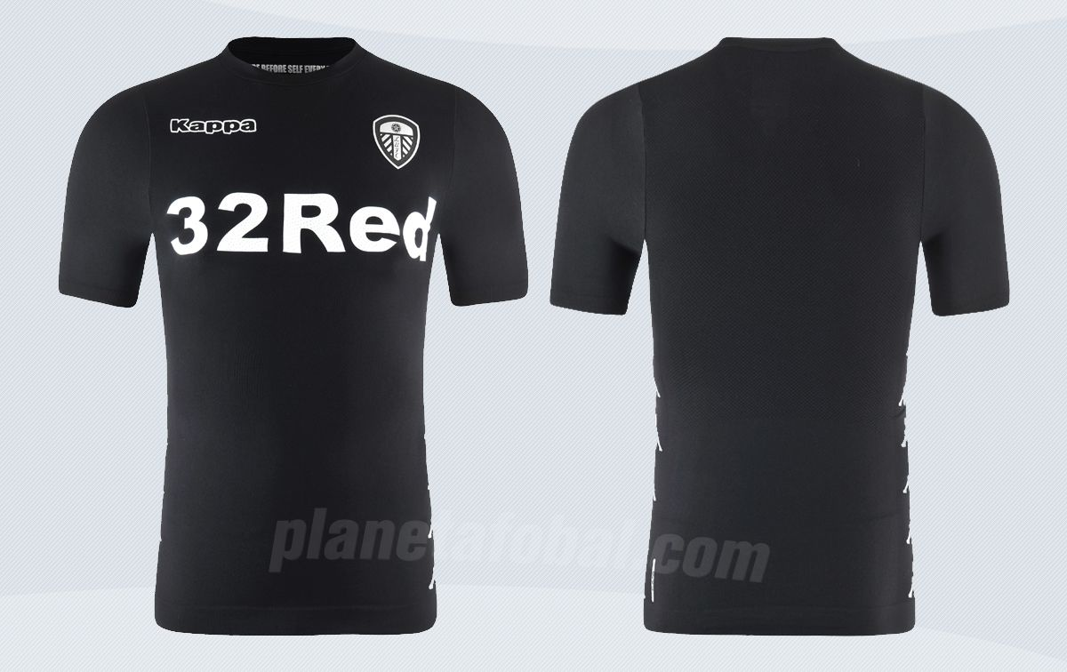 Camiseta suplente Kappa del Leeds United | Imágenes Web Oficial