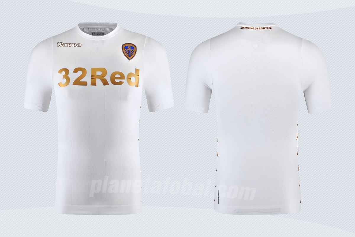 Camiseta titular Kappa del Leeds United | Imágenes Web Oficial