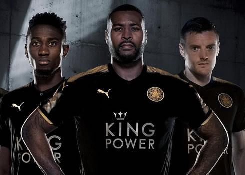 Camiseta suplente Puma del Leicester City | Foto Web Oficial