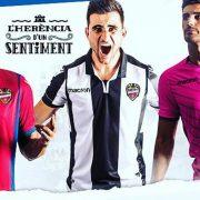 Camisetas Macron del Levante UD | Foto Web Oficial