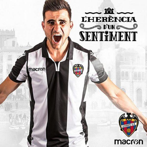Camiseta suplente del Levante UD | Foto Web oficial