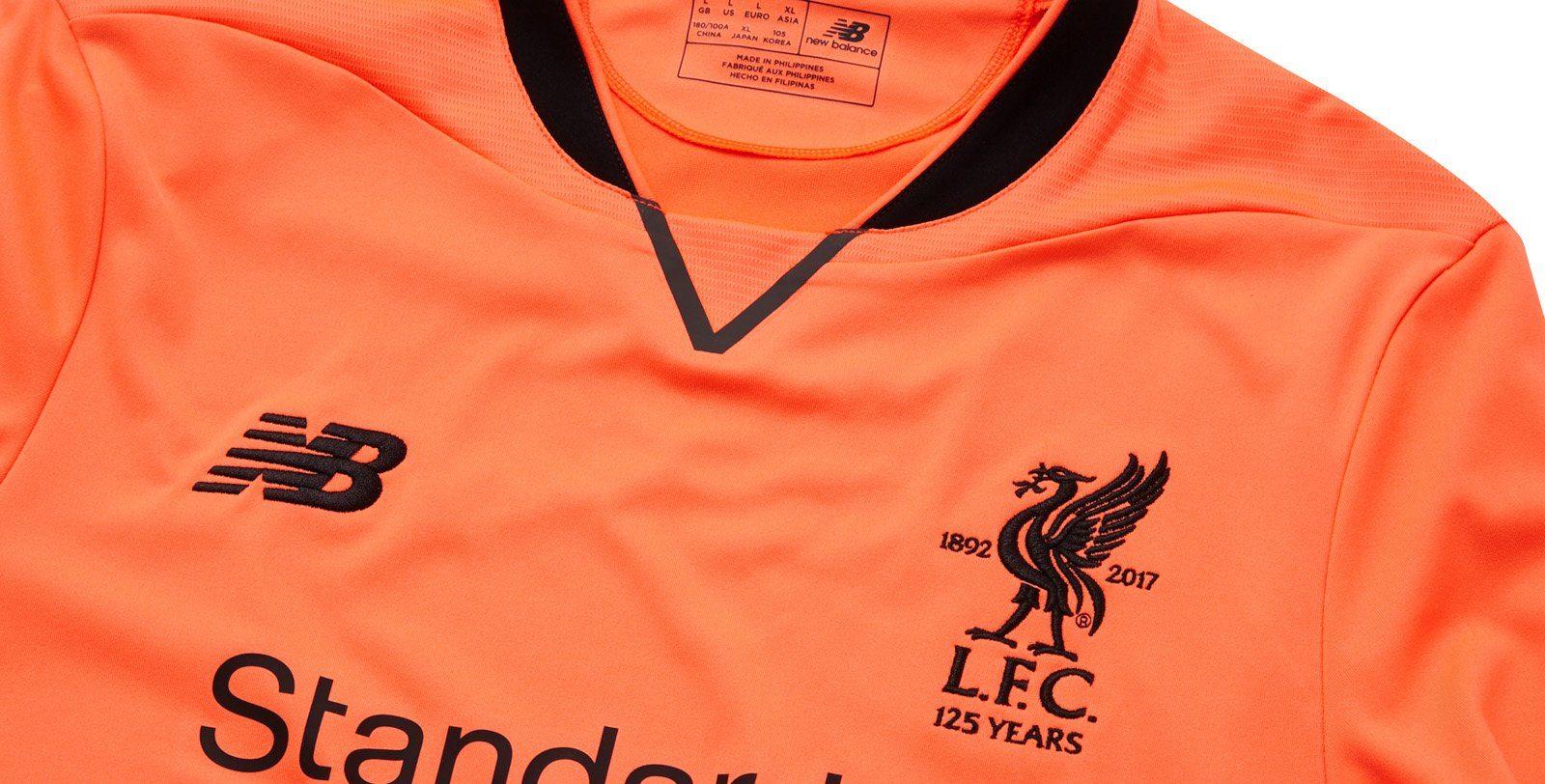 Tercera camiseta New Balance del Liverpool 2017 2018  1ddf5333bd7