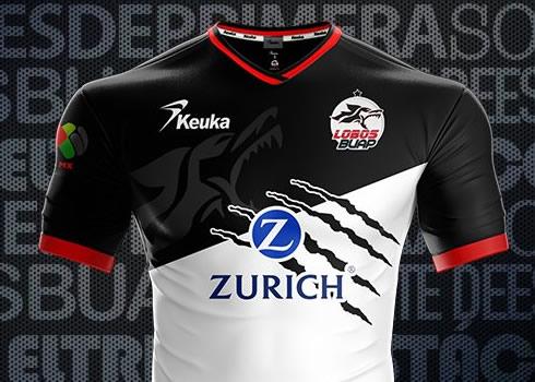 Camiseta titular Keukar de los Lobos BUAP | Foto Twitter Oficial