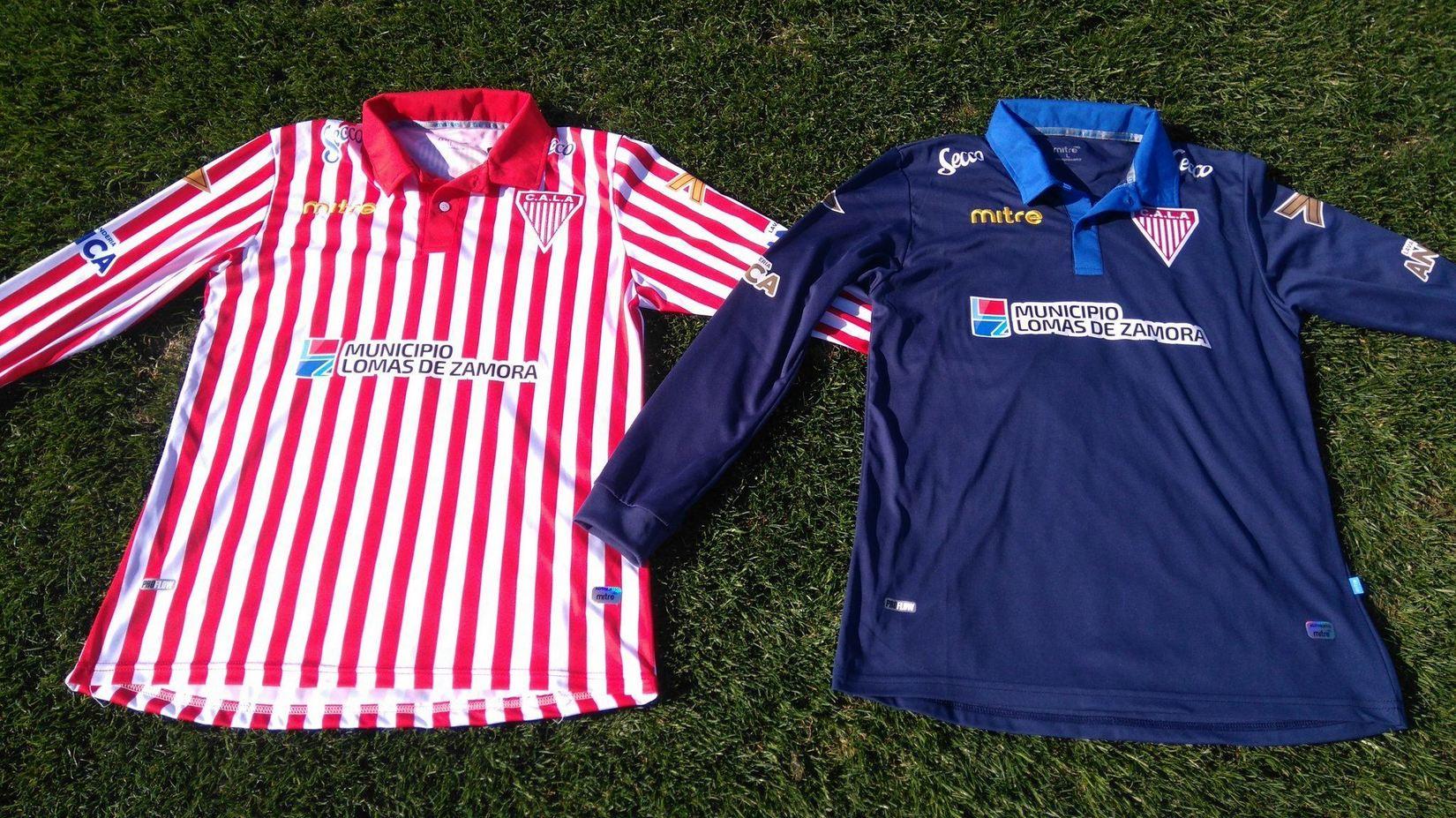 Nuevas camisetas Mitre de Los Andes | Foto Twitter Oficial