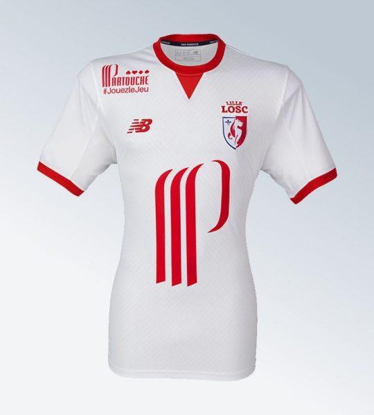 Camiseta suplente del LOSC Lille | Foto Web Oficial