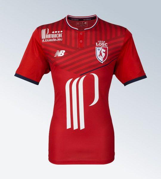 Camiseta titular del LOSC Lille | Foto Web Oficial