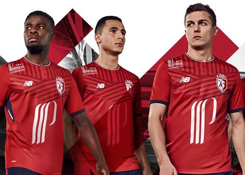 Camiseta titular del LOSC Lille | Foto New Balance