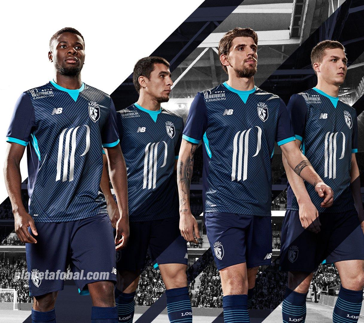 Tercera camiseta del LOSC Lille | Foto New Balance