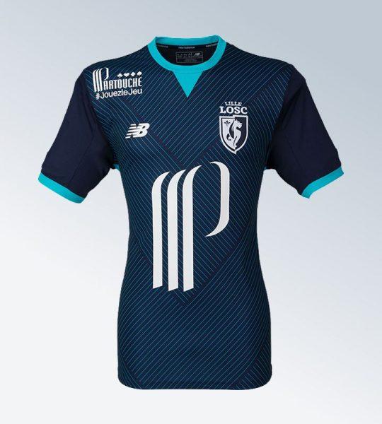 Tercera camiseta del LOSC Lille | Foto Web Oficial
