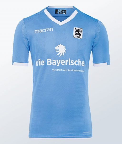 Camiseta titular Macron 17-18 del 1860 München | Foto Web Oficial