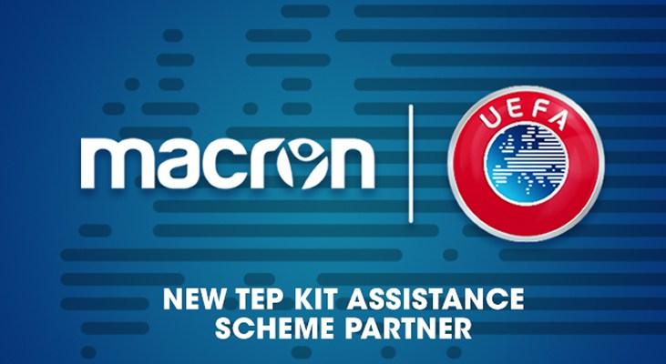 Macron vestirá a varias selecciones UEFA | Foto Web Oficial