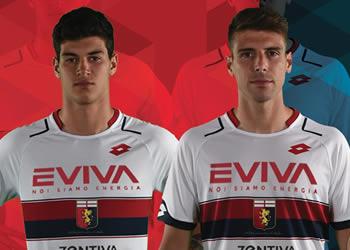 Camiseta suplente Lotto del Genoa | Foto Web Oficial