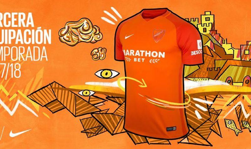 Tercera camiseta Nike del Málaga CF   Foto Web Oficial
