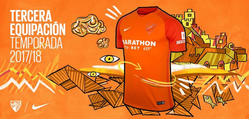 Tercera camiseta Nike del Málaga CF | Foto Web Oficial