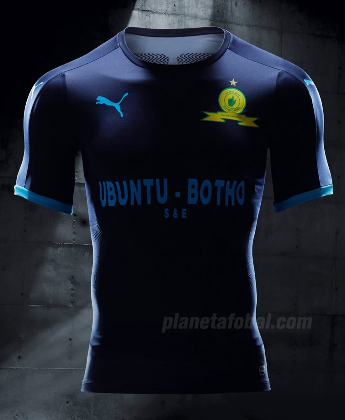 #StepOut kit del Mamelodi Sundowns | Foto Puma