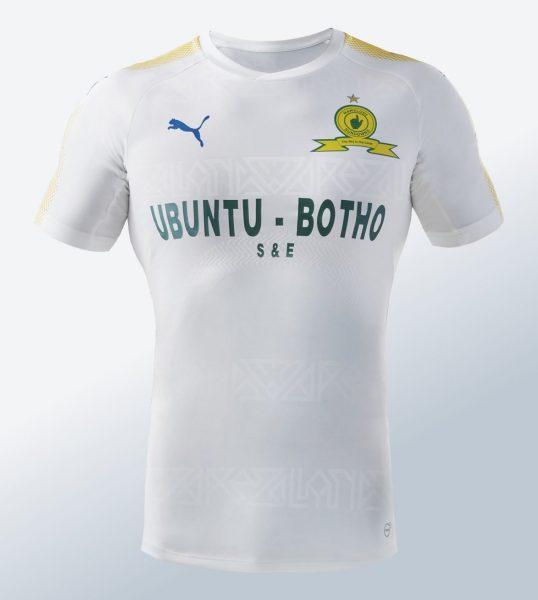 Camiseta suplente del Mamelodi Sundowns | Foto Puma