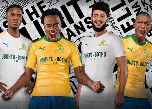 Camisetas del Mamelodi Sundowns | Foto Puma