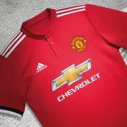 Nueva camiseta titular Adidas 2017-18 del United | Foto Web Oficial