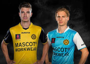 Camisetas Masita 2017-18 del Roda JC | Foto Web Oficial