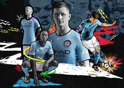 Camiseta titular del Melbourne City FC | Foto Web Oficial