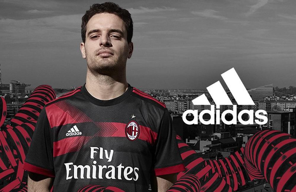 Tercera camiseta del Milan 2017-18 | Foto Web Oficial