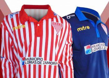 Camisetas Mitre de Los Andes | Foto Web Oficial